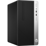 Desktop HP ProDesk 400 G4 MT, i3-7100, 4GB DDR4, HDD 500GB, DVD