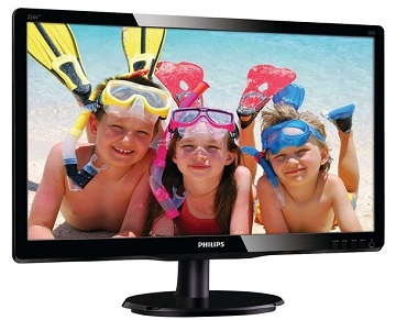 Monitor LCD 21,5in, 226V4LAB/00, 1920x1080, 5 ms, 1000:1, 250cd/mp, VGA, DVI-D, boxe