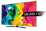Televizor LED LG 43UH668V, 109 cm, UHD, Smart, USB, DivX, HDMI, gri, magic remote