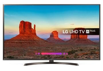 Televizor Smart LED LG 65UK6400PLF, 165 cm, ThinQ AI, 4K, gama 2018