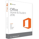 Microsoft Office Home and Student 2016 English, 32-bit/x64, 79G-04369
