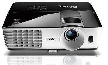 Videoproiector BENQ MX666+, DLP, XGA, 3D Ready, 3500 lm, 13.000:1, wireless, boxe, telecomanda, geanta, wireless, NFC