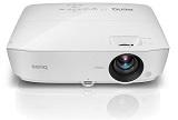 Videoproiector BENQ TW535, DLP, WXGA, 3D Ready, 3600 lm, 15.000:1, boxe, telecomanda, HDMI