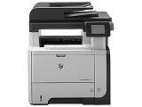 Multifunctionala HP LaserJet Pro M521dn, laser, monocrom, format A4, fax, retea, duplex