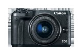 Camera foto Mirrorless Canon EOS M6 EF-M 15-45mm, 24Mp, Neagra