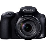 Camera foto Canon PowerShot SX60 HS Black, 16.1 MP, 65x zoom optic, WiFi, NFC, ISO 3200, filmare Full HD 60fps