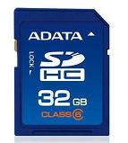 Card Secure Digital A-DATA 32GB, class 6