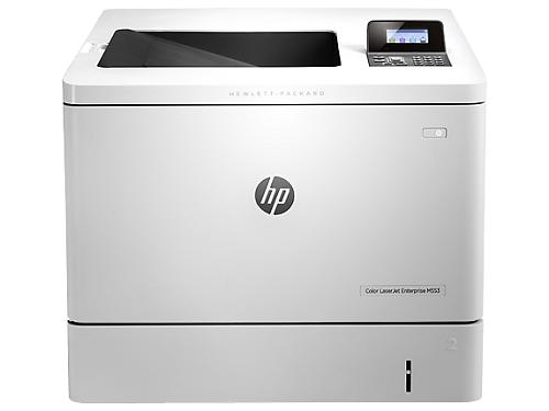 Imprimanta HP Color LaserJet Enterprise M553N, Format A4, Retea