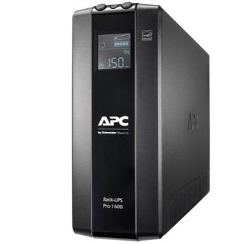 UPS APC Back-UPS Pro BR 1600VA, 8 Outlets, AVR, LCD Interface
