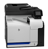 Multifunctionala laser color HP LaserJet Pro 500 M570DN, A4, 30ppm, 600x600dpi, 256MB memory, duplex, USB 2.0, USB Host, Ethernet