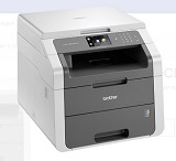 Multifunctional Brother DCP9015CDW, 18 ppm, 2400 x 600 dpi, 192 MB, duplex, wireless