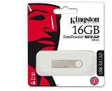 USB Flash Drive Kingston 16 GB DataTraveler SE9 G2 METAL CASING, USB 3.0, metalic
