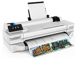 Plotter Cerneala HP DESIGNJET T125 24-IN PRINTER, A1, Retea, Wi-Fi, USB