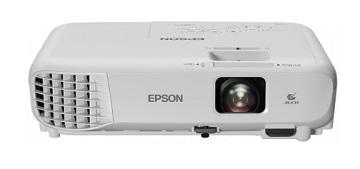 Proiector Epson EB-X05, 3LCD, XGA, 3300 lumeni, 15..000:1, difuzor 5W, telecomanda, geanta inclusa, alb