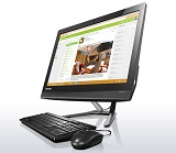 All in One PC Lenovo IdeaCentre AIO 300-23ISU, 23 in FHD Touch, GF920A-2GB, i3-6006, 4GB DDR4, 1TB HDD, DVD, WLAN, Win 10 Home