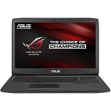 Laptop ASUS ROG G751JT-T7211D, 17.3inch FHD, i7-4750HQ, RAM 24GB DDR3, HDD 1TB + 512GB SSD, GeForce GTX 970M, negru