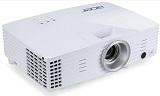 Proiector ACER H6502BD, DLP, FHD, 3400 lumeni, 20.000:1, boxe 2W, telecomanda, alb