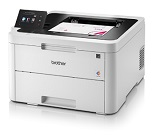 Imprimanta led color BROTHER HL-3270CDW, 24 ppm, 2400 x 600 dpi, 128 MB RAM, duplex, USB 2.0, Ethernet, wireless