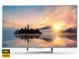Televizor Led Sony Smart LED KD55XE7077, 55 inch, UHD, Wi-Fi, Argintiu