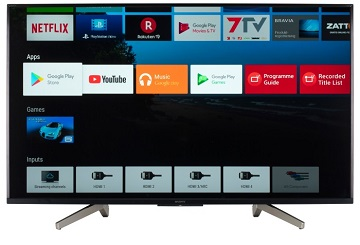 Televizor Sony KD-75XF8596, 189 cm, Smart TV, Android, Ultra HD 4K, negru