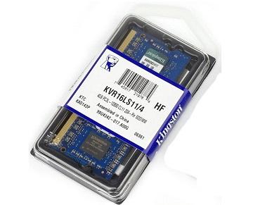 Memorie SODIMM Kingston, KVR16LS11/4, 4GB DDR3L 1600MHz, CL11, 1.35V