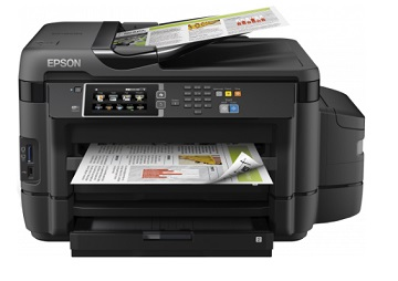 Multifunctional inkjet color CISS Epson L1455, A3, 32/20 ppm, duplex, Fax, ADF, Wi-Fi