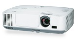 Videoproiector NEC M311W, WXGA, 3100 lumeni, 3.000:1, HDMI, alb