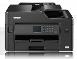 Multifunctionala inkjet BROTHER MFCJ2330DW, A3, 27/35 ipm, 1200 x 2400 dpi, 128MB, duplex, wireless