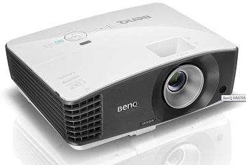 Proiector BENQ MW705, DLP 3D, WXGA, 4000 lumeni, 13.000:1, boxa 10W, telecomanda, alb