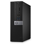 Desktop Dell Optiplex 3046 SFF, i3-6100, RAM 4GB DDR4, SSD 128 GB, DVD-RW, LAN, CR, TPM, Kb + M,