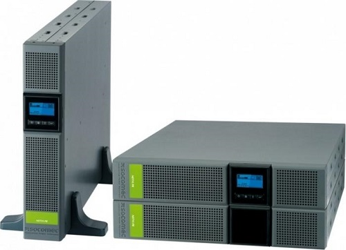 UPS SOCOMEC Netys PR RT 3300VA, putere 3300VA / 2700W, display LCD, AVR, line interactive, management