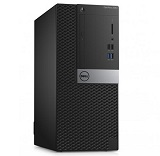 Desktop Dell Optiplex 3040 MT, i3-6100, RAM 4GB DDR3, HDD 500GB, DVD-RW, LAN, CR, TPM, mouse + tastatura, Linux