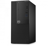Desktop Dell Optiplex 3050 MT, i3-7100, 4GB DDR4, 500GB HDD, DVD-RW, LAN, CR, TPM, Kb + M, Win 10 Pro