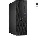 Desktop Dell Optiplex 3050 SFF, i3-7100, 4GB DDR4, 128 SSD, DVD-RW, LAN, CR, TPM, Kb + M, Win 10 Pro