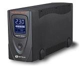 UPS Serioux, ProtectIT 650LS, 650VA, ecran LCD, negru
