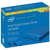 Intel SSD 750 Series, 1,2TB, 2.5in, PCIe NVMe 3.0 x4, 20nm, MLC