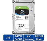 HDD intern Seagate, 3.5 in, 1TB, SkyHawk, SATA3, 5900rpm, 64MB