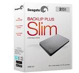 HDD extern Seagate, 1TB, Backup Plus Slim, STDR1000411, 2.5 in, USB3.0, alb