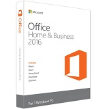 Microsoft Office Home and Business 2016, All languages, P2,  32-bit/x64, Retail