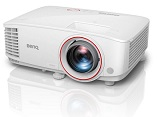 Videoproiector BENQ TH671ST, Short Throw, DLP 3D, Full HD, 3000 lm, 10.000:1, telecomanda, boxe, Football Mode