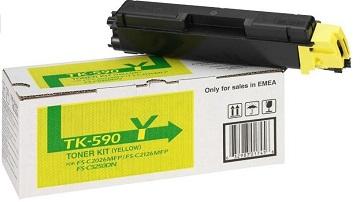 Toner Certo TK-590YG compatibil Kyocera TK-590Y, 5,000 pag, yellow