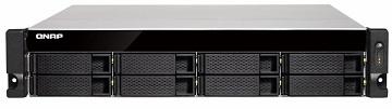 NAS QNAP, TS-832XU-RP-4G, 2U, 8 Bay, quad-core 1.7 GHz, 4GB