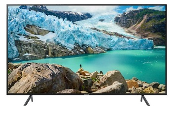Televizor LED Samsung UE43RU7102KXXH, 109 cm, Smart, 4K UHD, Wi-Fi, Negru