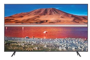 Televizor LED Samsung UE55TU7172UXXH, 139 cm, Smart, 4K UHD, Wi-Fi, Titan Gray