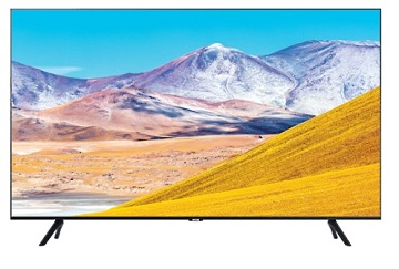 Televizor LED Samsung UE65TU8072UXXH, 165 cm, Smart, 4K UHD, Wi-Fi, Negru