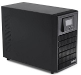 UPS nJoy Aten 3000, 3000VA/2400W, On-line, LCD Display, 4 Prize Schuko, management, dubla conversie
