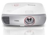 Videoproiector BENQ W1210ST, DLP 3D, Full HD, 2200 lm, 15.000:1, telecomanda, boxe, 2,5 Kg, alb