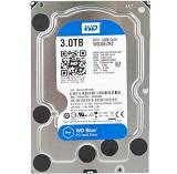 HDD intern WD, 3.5, 3TB, BLUE, SATA3, IntelliSeek (5400rpm),  64MB, advanvced format (AF)