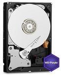 HDD intern Western Digital WD40PURZ, 3.5 in, 4TB, PURPLE, SATA3, IntelliPower (5400rpm), 64MB, Surveillance HDD