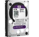 HDD intern WD, 3.5, 6TB, PURPLE, SATA3, IntelliPower (5400rpm), 64MB